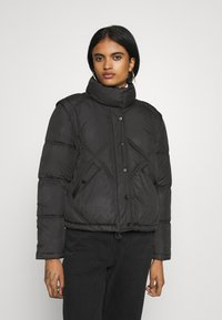 ONLY - ONLHANNAH QUILTED JACKET - Winter jacket - black - 0