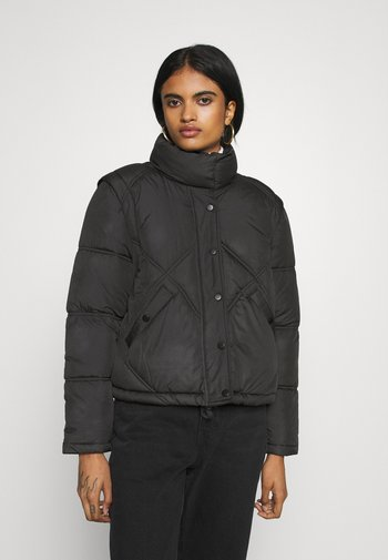 ONLHANNAH QUILTED JACKET - Winter jacket - black