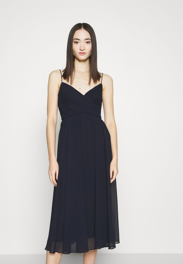 PHOEBE PROM MIDI DRESS - Cocktailkjole - navy