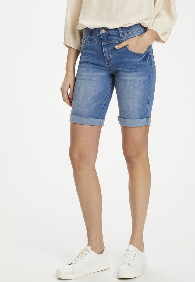 Jeans Shorts - light blue denim
