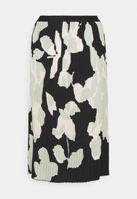 Opus - RODINJA - Plisovaná sukně - black - 1