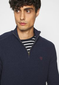Pier One - Jumper - mottled dark blue - 3