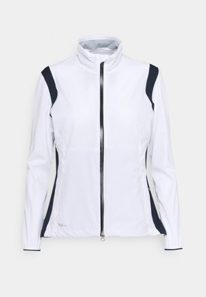 HURRICANE JACKET - Waistcoat - white