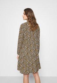 JDY - JDYPIPER DRESS - Skjortekjole - black/yellow - 2