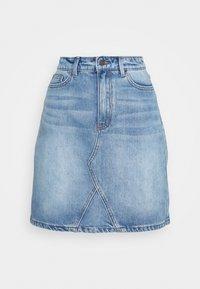 Object - OBJGLORIA SKIRT  - Jeansnederdel/ cowboy nederdele - light blue denim - 0