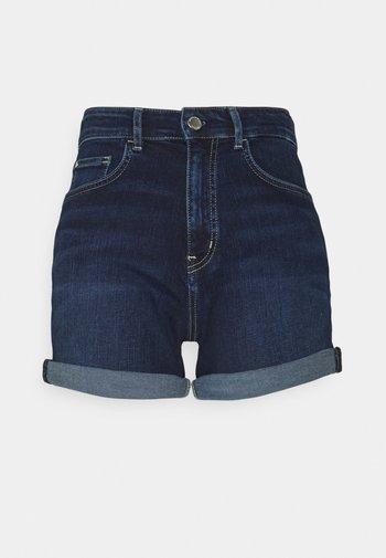 Denim shorts - basically blues wash