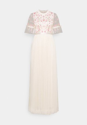 ELSIE RIBBON BODICE MAXI DRESS - Occasion wear - champagne