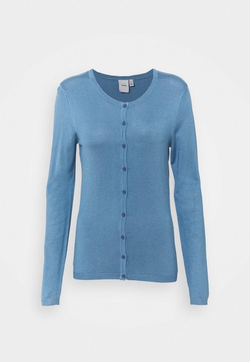 ICHI - Strikjakke /Cardigans - coronet blue