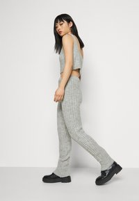Miss Selfridge Petite - COZY SET - Top - grey - 3