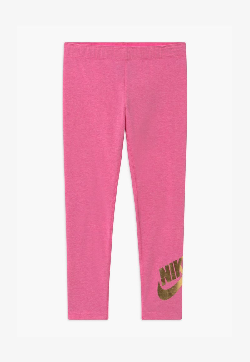 Nike Sportswear - FAVORITES SHINE - Legging - pinksicle/metallic gold