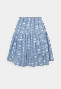 YAS - YASPACCA SKIRT - Mini skirt - cashmere blue - 1