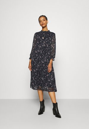 VMSYLVIA CALF DRESS - Kjole - navy blazer