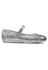 Clarks - DANCE TAP TODDLER - Ankle strap ballet pumps - silber / synthetik - 2