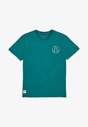 INFINITY STACK TEE - T-shirt print - deep lake
