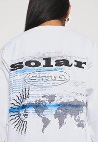 Topshop - SUN SOLAR SKATER - Long sleeved top - white - 5