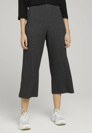 CULOTTE  - Trousers - shale grey melange