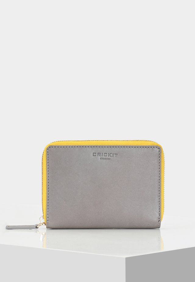PORTEMONNAIE CARINA - Punge - light grey