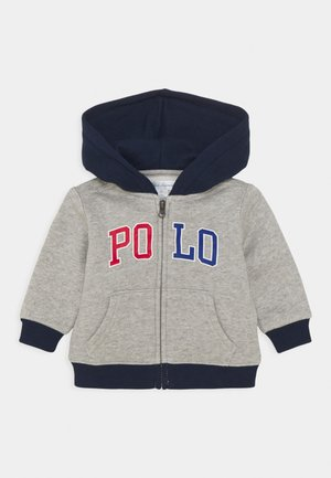 HOOD - veste en sweat zippée - andover heather