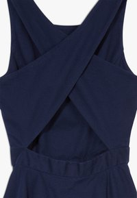 Polo Ralph Lauren - SOLID CROSS DRESSES - Day dress - french navy - 4
