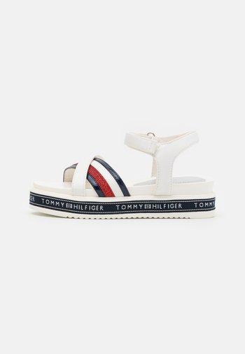Sandals - white/multicolor