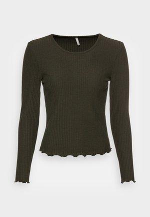 ONLNELLA O NECK - Långärmad tröja - rosin