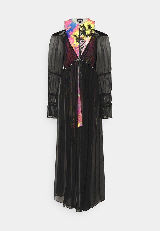 Maxi šaty - fuxia variant