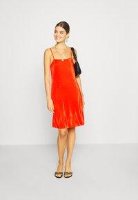 Even&Odd - Korte jurk - orange - 1