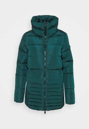 WOMAN MID JACKET - Winterjacke - petrolio