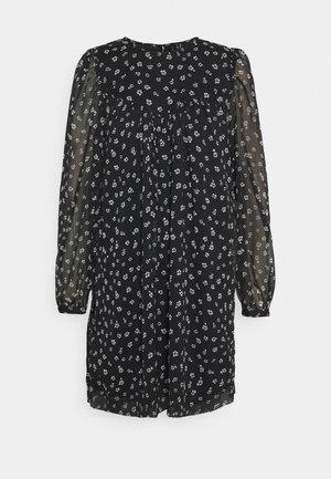 VMALMINA LOOSE SHORT DRESS - Day dress - black