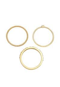 Elli - 3 PACK - Ring - gold - 3