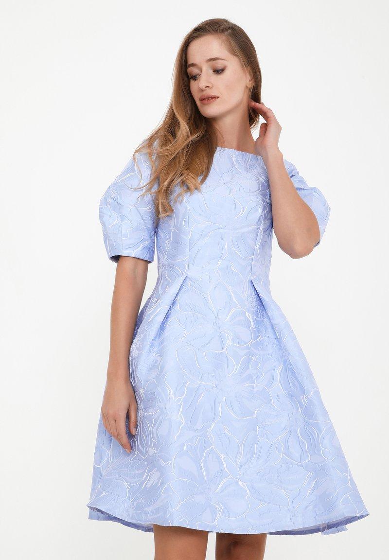 Madam-T - ROBERTA - Cocktail dress / Party dress - hellblau