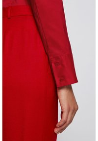 BOSS - BASHINA - Button-down blouse - red - 4