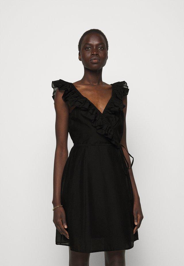 SONIA SHORT DRESS - Hverdagskjoler - black