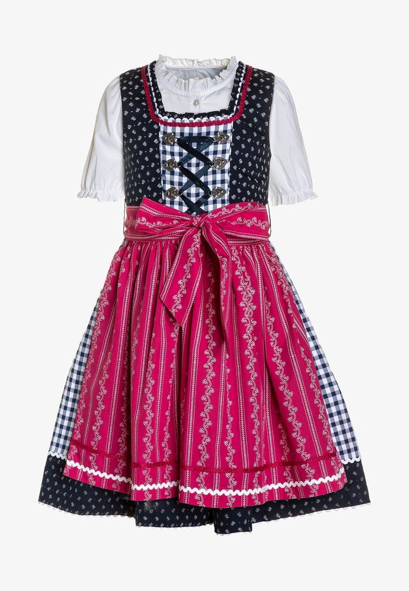 happy girls - SET - Folkedans nationaldragt Tyrol - pink