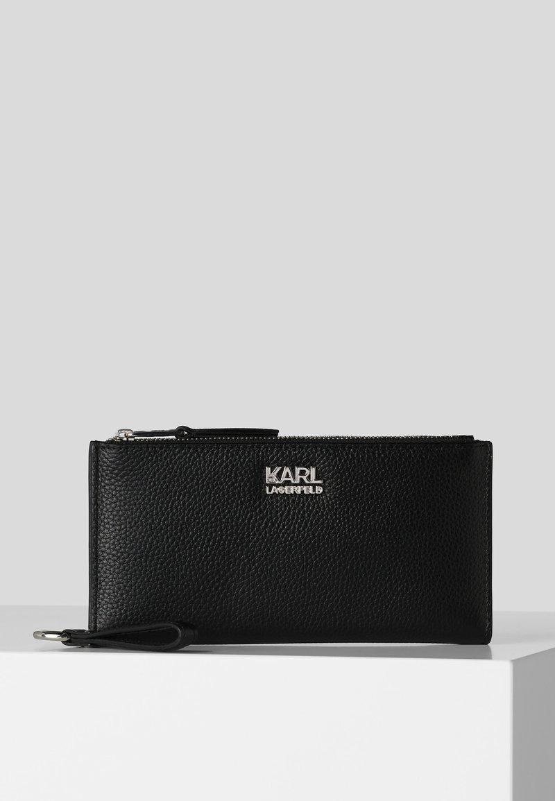 KARL LAGERFELD - K/PEBBLE  - Wallet - black