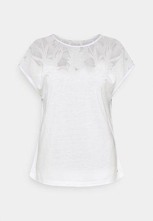 LEHOO - Print T-shirt - white