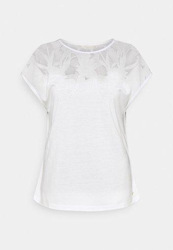 LEHOO - T-shirt imprimé - white