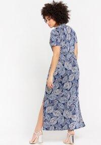 LolaLiza - WITH BOTANICAL PRINT - Maxi dress - navy blue - 2