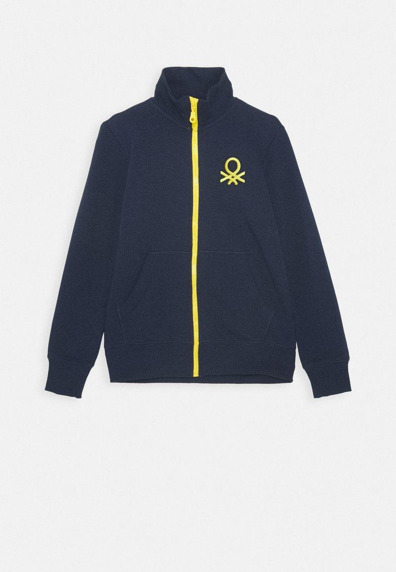 Benetton - Zip-up hoodie - dark blue