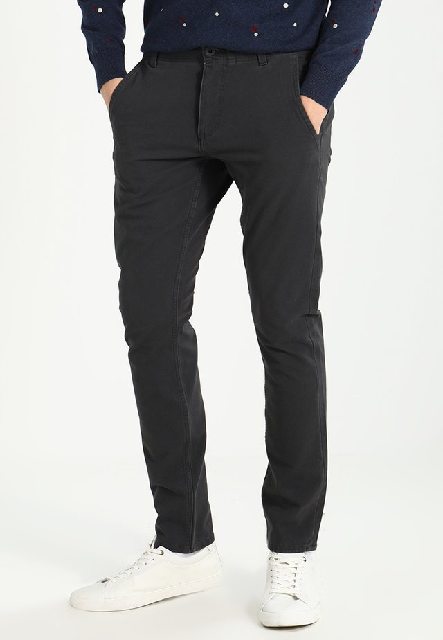 SMART 360 FLEX ALPHA SKINNY - Pantalones chinos - steelhead