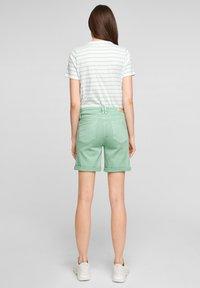 s.Oliver - Denim shorts - turquoise - 2