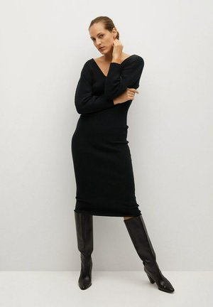 NIBIA - Etui-jurk - zwart