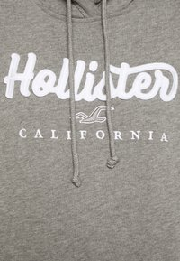 Hollister Co. - Bluza z kapturem - grey - 5