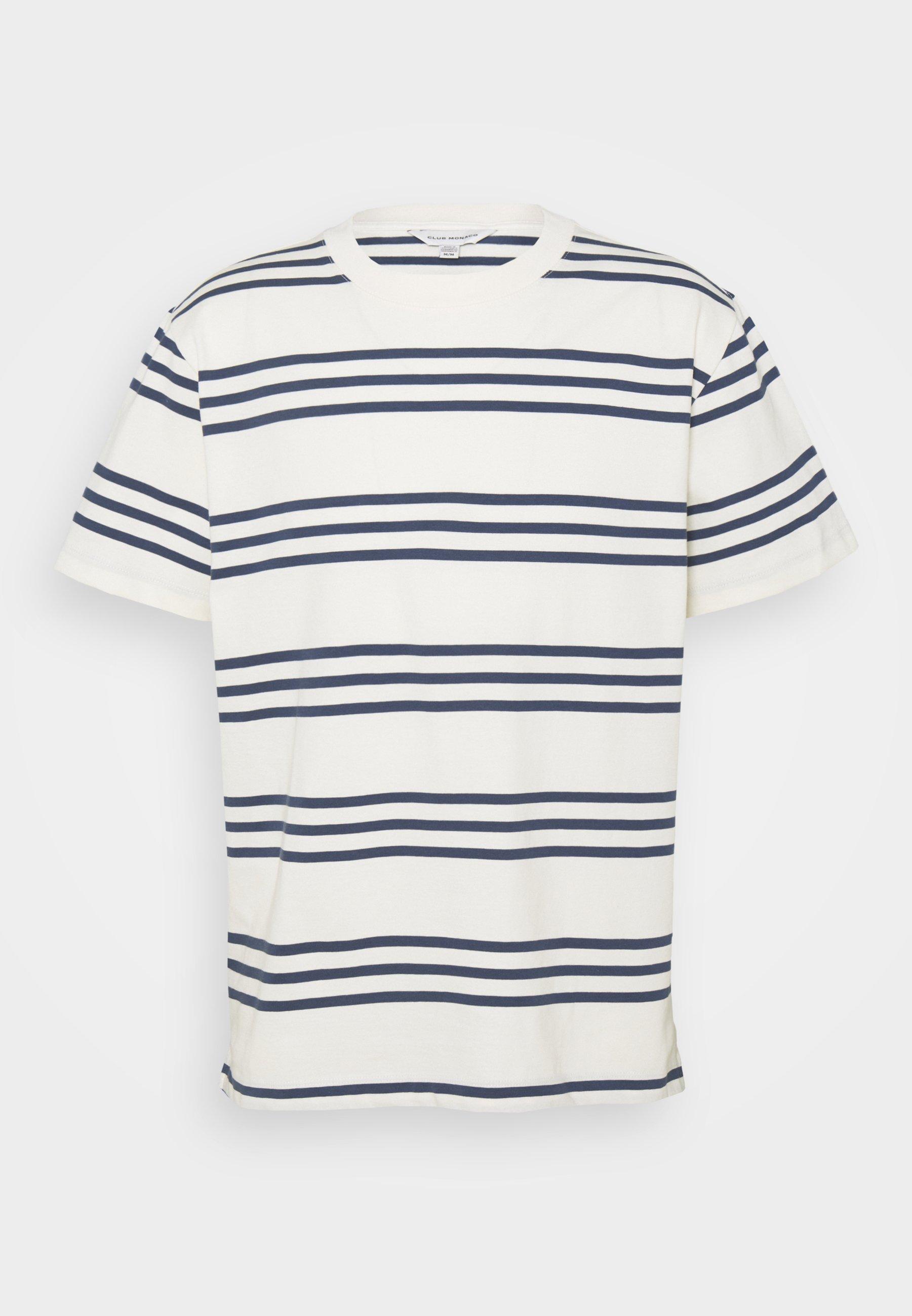 Homme TRIPLE STRIPE CREW - T-shirt imprimé