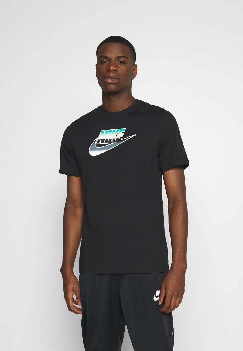 Nike Sportswear - TEE BRANDMARK - Triko spotiskem - black