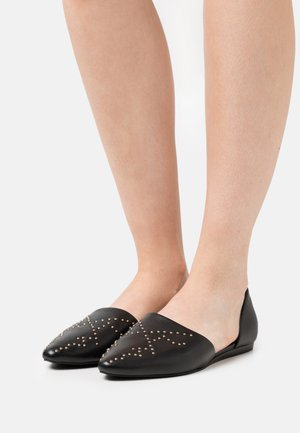 BUTTERFLY - Slippers - black