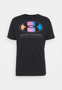 Under Armour - LOCKERTAG  - Print T-shirt - black - 3