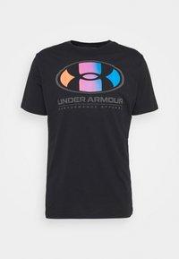 LOCKERTAG  - Print T-shirt - black