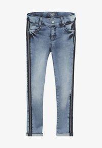 Blue Effect - GIRLS STREIFEN CROPPED - Jeans Skinny Fit - light blue - 2