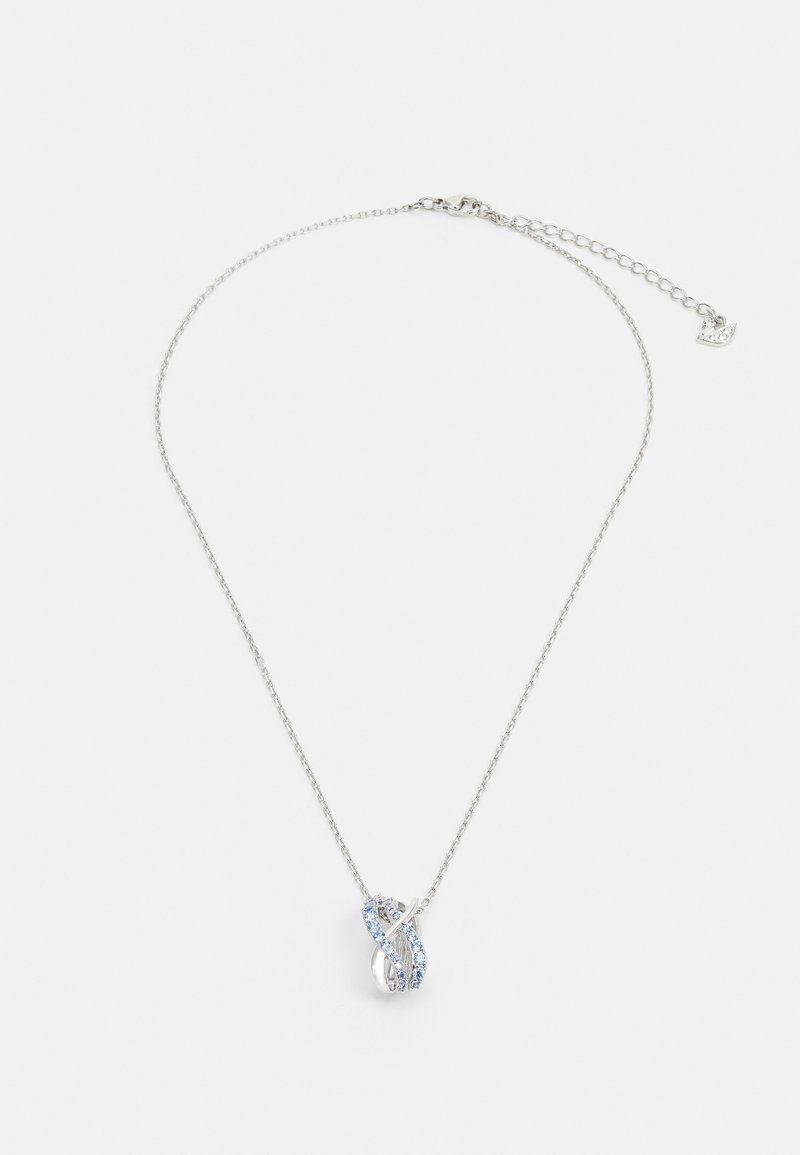 Swarovski - TWIST PENDANT ROWS - Necklace - fancy light blue